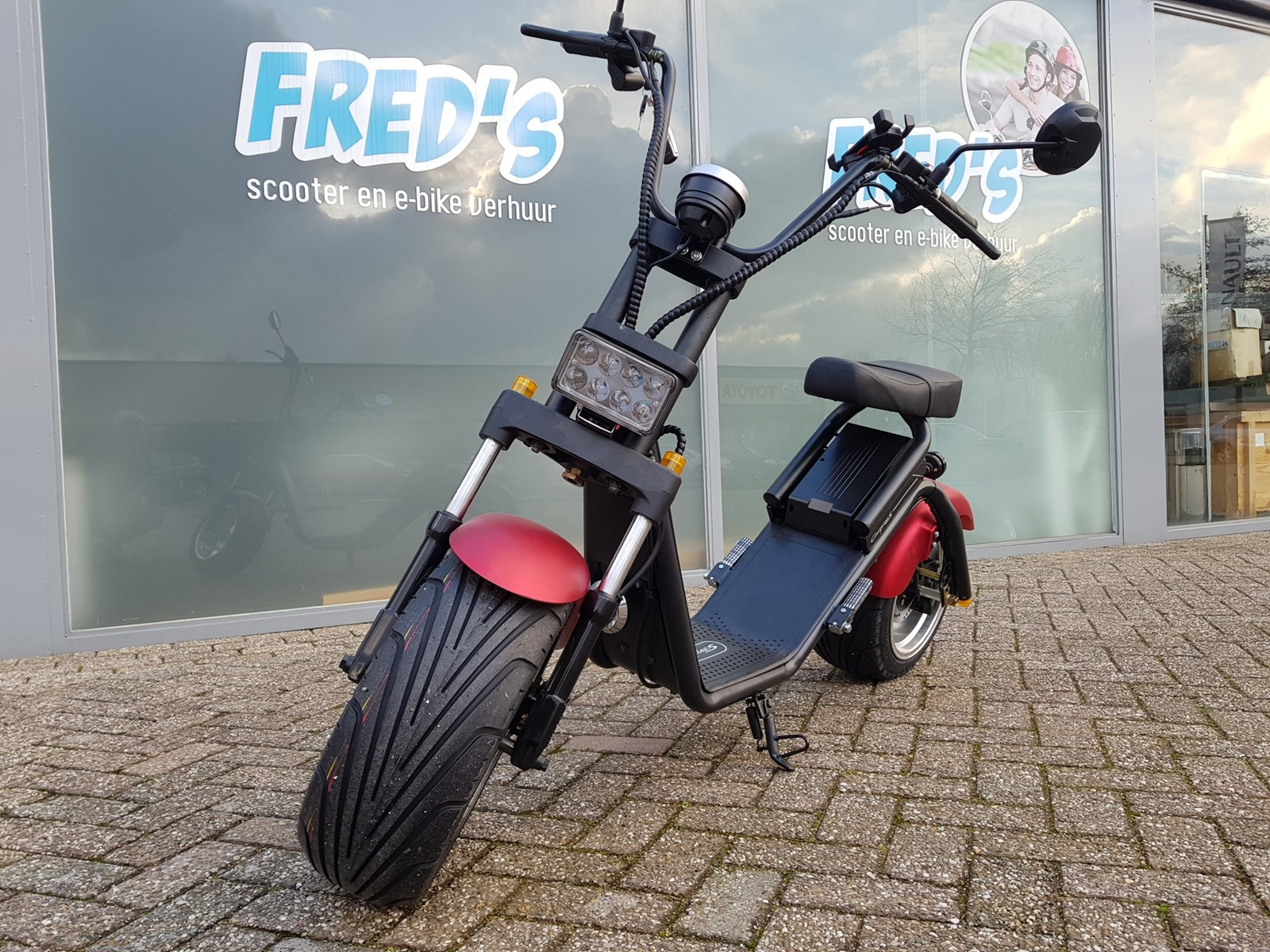 De nieuwste verhuur trends vind u bij Fred - Fred's scooter en e-bike verhuur